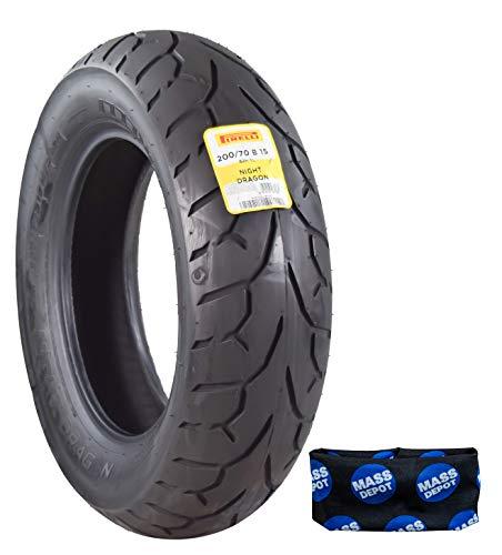 Pirelli Night Dragon Cruiser Motorcycle Tires Set (200/70B15 M/CTL Rear)