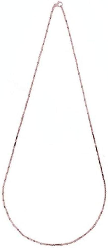 Chimento,collana per donna.in oro rosa 18 kt (8,7gr)della linea bamboo 1G05083ZZ6450