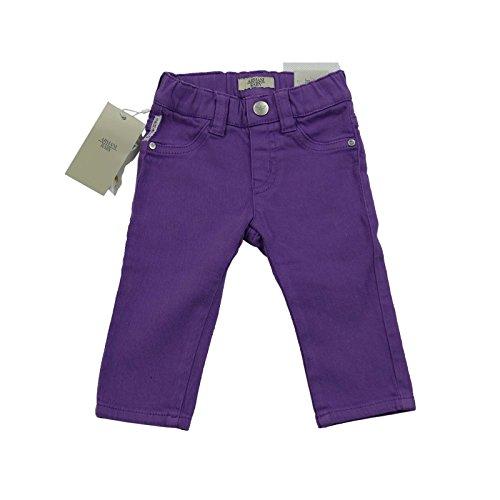 Armani bébé filles Violet JEGGINGS 100% GENUINE de luxe SZ 3M