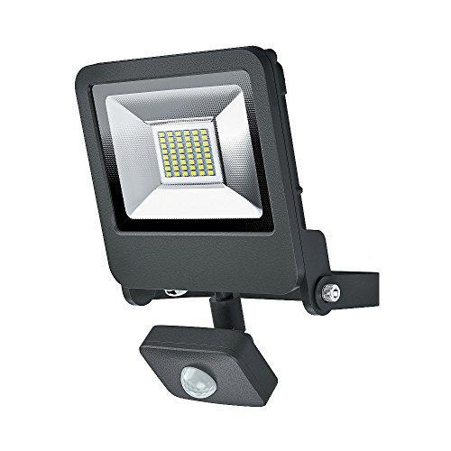 Osram LED Endura Flood Sensor Fluter, für Außenanwendungen, integrierter Bewegungssensor, Warmweiß, 212, 0 mm x 163, 0 mm x 61, 0 mm