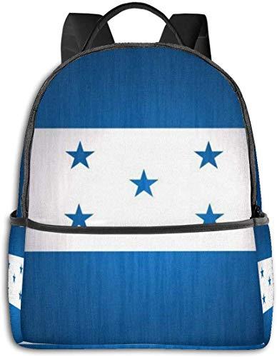 Rucksack für die Schule, große Kapazität, für Camping, Picknick, Fahrrad, Flagge von Costa Rica, Camping Outdoor Rucksack für Frauen, Männer, Schulgeschenk Honduras Flagge Einheitsgröße