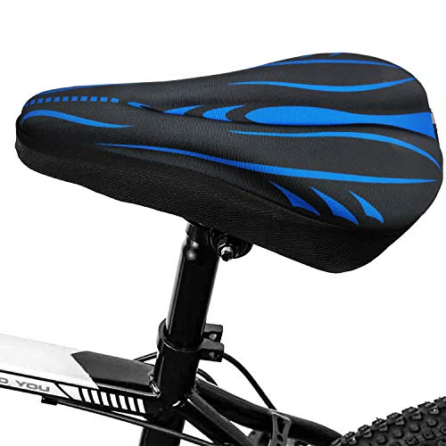HuiSiFang Gel Cubre Sillín de Bicicleta 30 x 19cm - Cubierta de...