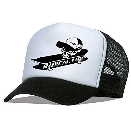 Bastart Caps Raphia type Radical Casquette en maille Life – Skate Pro