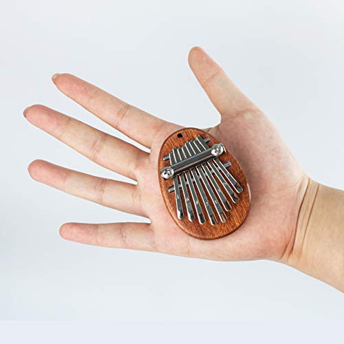 FOVERN1 Mini Kalimba, 8 Keys Thumb Piano Marimbas Finger Piano African...