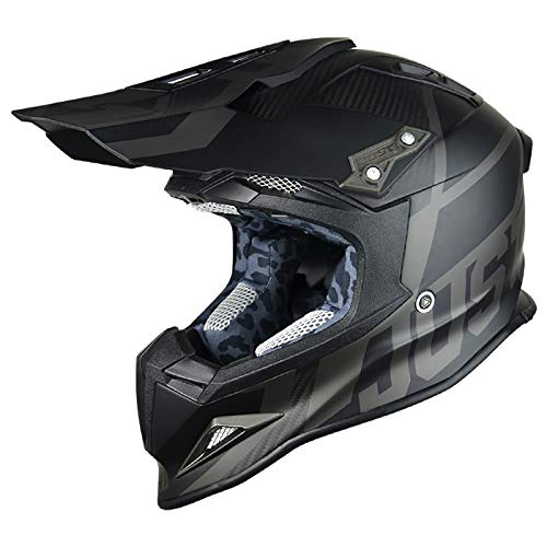JUST1 J12UNIT, Casco J12 Unit Nero 56-S uomo, small