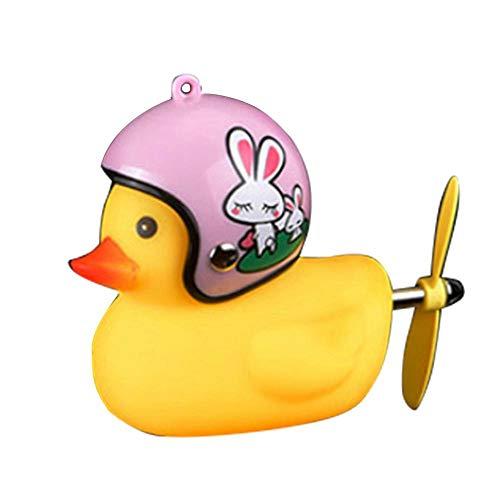 Nette gelbe Ente Fahrrad Duck Bell MTB Rennrad Motor Helm Reiten Radfahren Zubehör für Kinder Erwachsene