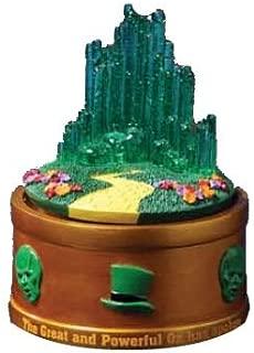 The San Francisco Music Box Company The Wizard of Oz Emerald City Rotating Mini Figurine
