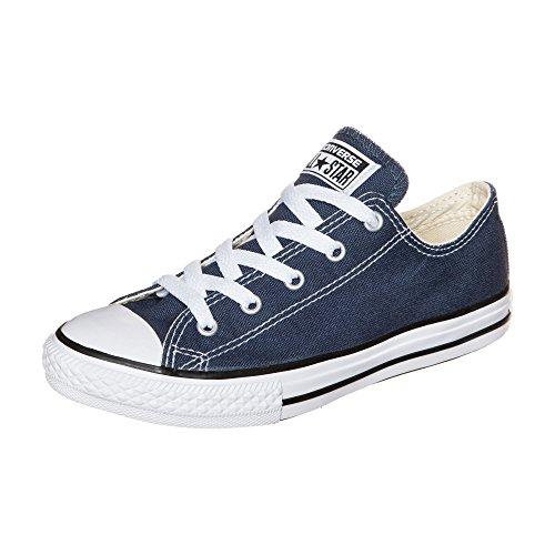 Converse Chuck Taylor All Star Core Ox Junior Kids Trainer - Navy Blue, UK 2