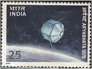 India 1975 Aryabhata ( Aryabhatta ) - First Indian Satellite Postage Stamp Mint Unhinged