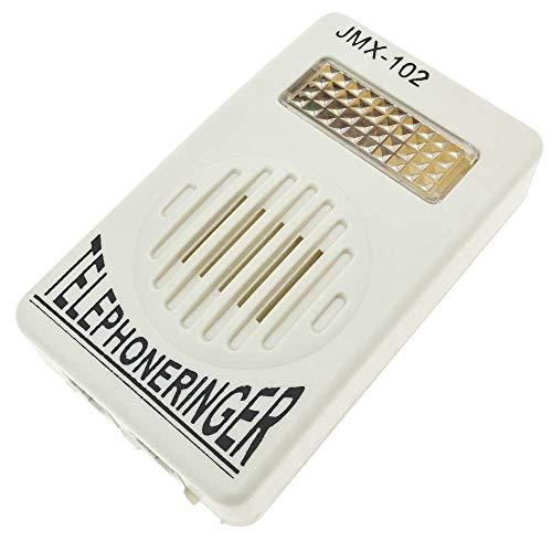 BeMatik - Deurbel met flitslicht Lichtsignaal voor vaste telefoon RJ11