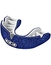 Opro Power-Fit Sports Mouthguard, Adultos Unisex, Galaxy Shimmer-Azul/Blanco