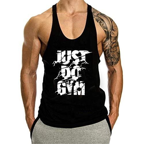 KODOO Hombre Camiseta Fitness Tops Camisa de Tirantes Deportes para, Tops Camisa sin Mangas de Verano Deportiva Culturismo T-Shirt