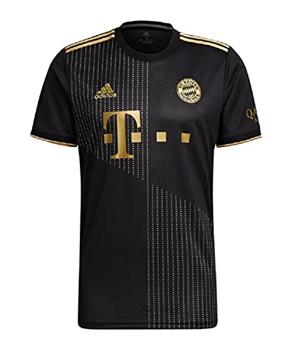 adidas FC Bayern München Trikot Away (L, Black/Gold, l)