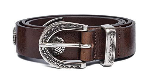 REPLAY Ax2249.000.a3007 Cinturón, Marrón (Fade Tobacco 117), 95 (Talla del fabricante: 80) Unisex Adulto