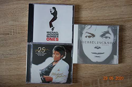 Michael Jackson Best of Bundle 3 CD Original Album Set