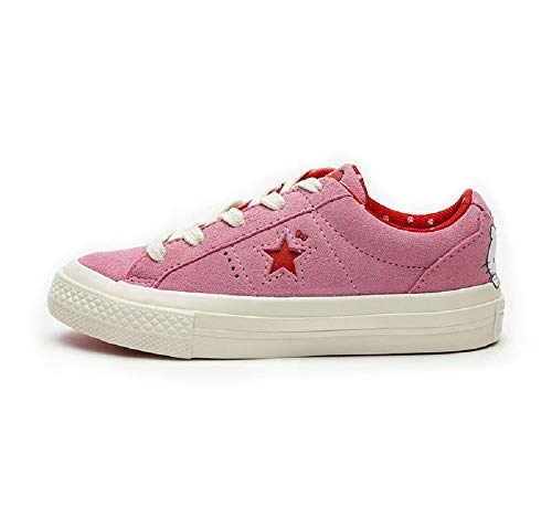 Converse Hello Kitty One Star Ox Youth Pink Red White 362941C, Rosa (rosa), 34 EU
