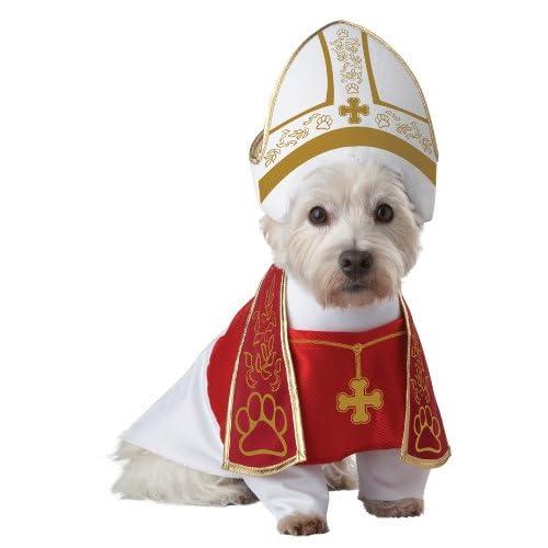 RED/White_HOLY Hound Dog Costume