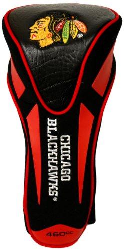 Team Golf NHL Chicago Blackhawks Golfschlägerhaube, für Golfschläger, mit Apex-Driver, passend für alle übergroßen Schläger, wirklich schlankes Design, Mehrfarbig