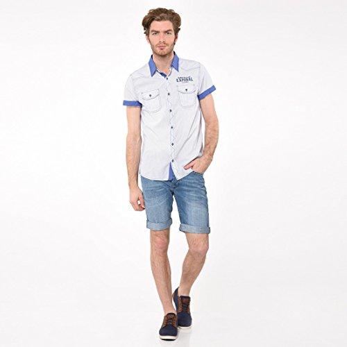 Kaporal Jeans - Chemise GUBE Jeans - Bleu, S