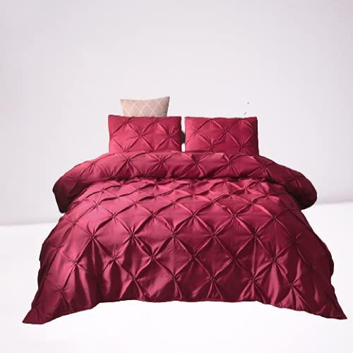 Ropa De Cama Textiles para El Hogar Funda Nórdica De Color Liso Funda De Almohada Ambiente Simple Duradero Y Fácil De Limpiar 200x230cm