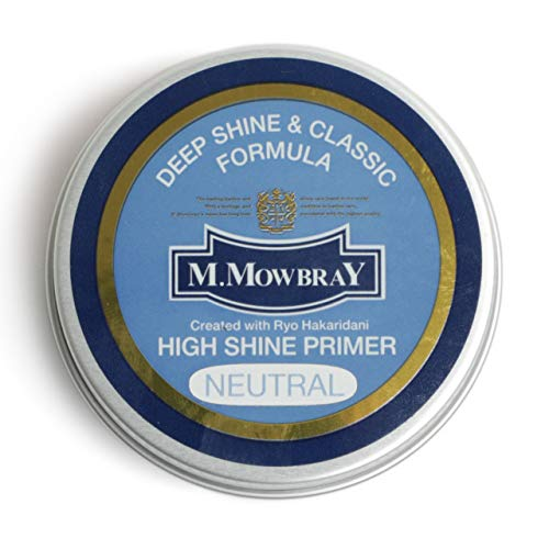 M.MOWBRAY M.モゥブレイ HIGH SHINE PRIMER ハイシャインプライマー ワックス 鏡面磨き シューケア NEUTRAL