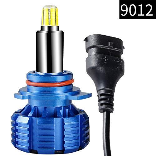 Phare 30W 6000LM 9012, ampoules de phares à DEL, kit de conversion de voiture tout-en-un, puce ultra-brillante, à remplacer pour halogène, ampoules c