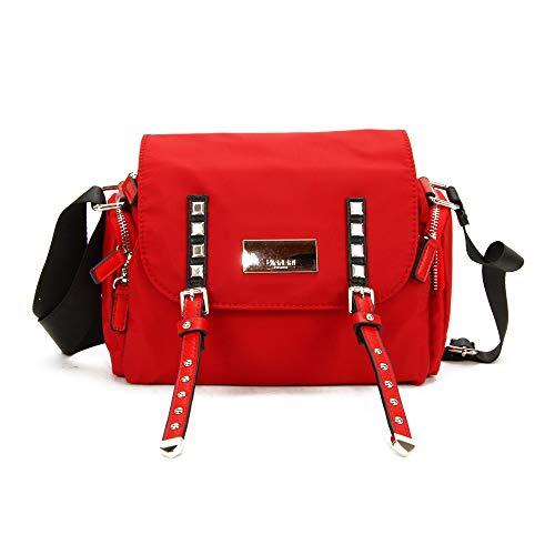 binnari - Bolso 17451-VEL para: Mujer Color: Rojo Talla: