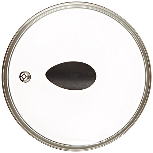 8' Earth Frying Pan Lid in Tempered Glass, by Ozeri