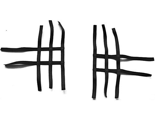 Nerf Bar Netz Quad ATV black 3 & 2 Bänder