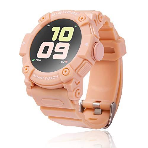 Smartwatch Bluetooth Orologio Fitness Uomo Donna Fitness Tracker Contapassi Calorie Cardiofrequenzimetro da polso Impermeabile IP67 Smart Watch con Cronometro Notifiche Messaggi per Android iOS