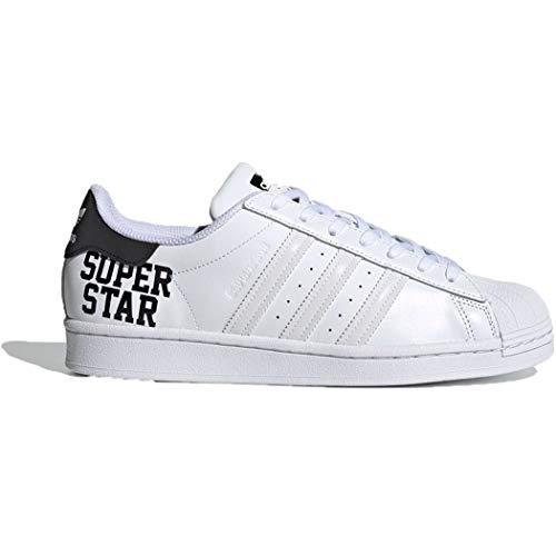 adidas Hombre Superstar Zapatillas Blanco, 42 2/3