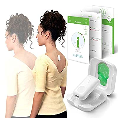 Upright GO 2 NEW Posture Trainer and Corrector for Back | Strapless, Discreet and Easy to Use | Complete with App and Training Plan | Back Health Benefits and Confidence Builder by Upright