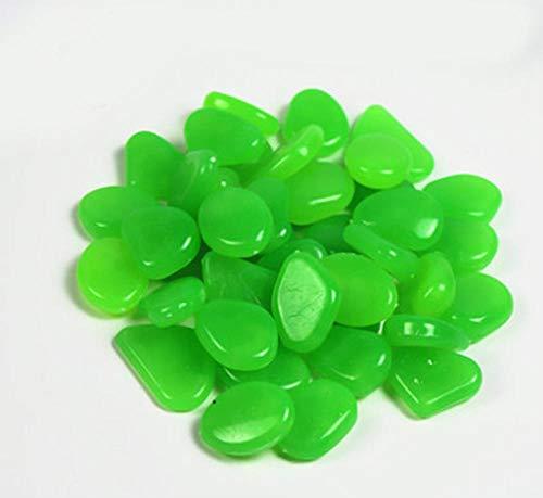 ZLDFAN Fluorit kann buntes Licht abgeben, um das Aquarium, den Blumentopf, den Garten usw. zu dekorieren.-Grüne 100 Yuan