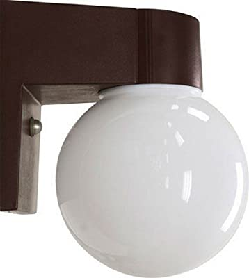 Dabmar Lighting W2822-BZ Polycarbonate Surface Mounted Wall Fixture, Bronze