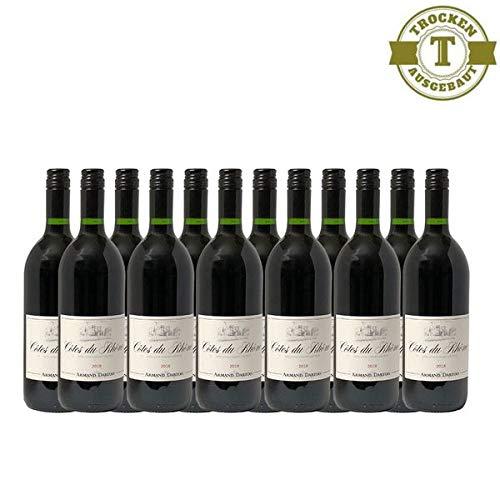 Rotwein Frankreich Côtes du Rhône Grenache und Syrah Armand Dartois trocken (12x1,0L)
