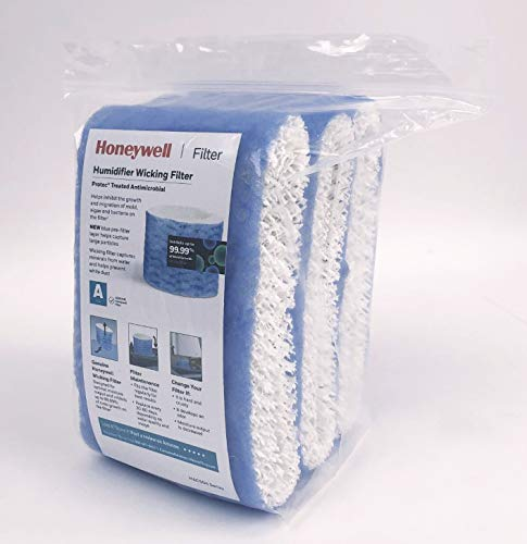 Honeywell Replacement Wicking Filter A, 3 Pack, White, 3 Count
