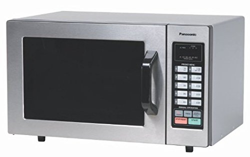 Panasonic Consumer NE1054F 1000 Watt Commercial Microwave Oven With 10 Programmable Memory