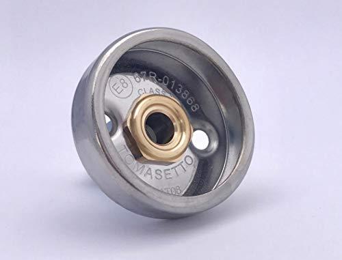 Tomasetto Dish LPG GPL - Adattatore per Serbatoio M10, Versione Corta, 60 mm