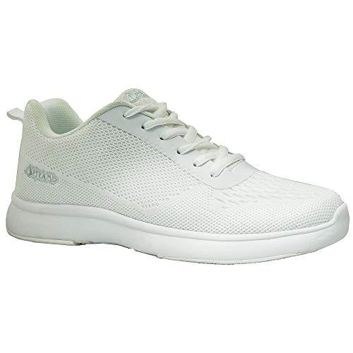 Pyramid Women's Path Lite Seamless Mesh Bowling Shoes - White Size 7.5
