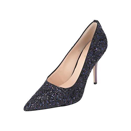 HÖGL 4-119019 Damen Pumps Absatz-Leder-Schuhe High-Heels schwarz NEU OVP Sale, Größe:EUR 37 (UK 4) (37 EU)
