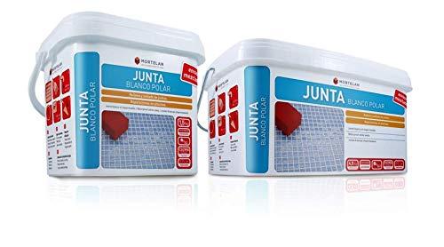JUNTA BLANCO POLAR MORTELAN. Lechada para azulejos y suelos BLANCO (1,5 KG)