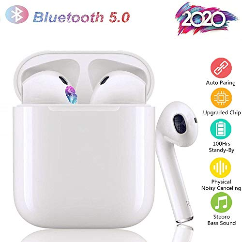 ChuangXiang Auriculares TWS i12,Bluetooth 5.0,Sonido Estéreo 3D,Contr