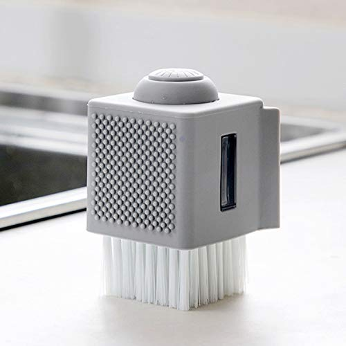 Deyan reinigingsborstel voor thuis, kom, vloeibaar wasmiddel, keukengerei, reinigingsborstel, zeepdispenser