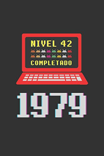 NIVEL 42 COMPLETADO 1979: REGALO DE CUMPLEAÑOS ORIGINAL Y DIVERTIDO. DIARIO, CUADERNO...