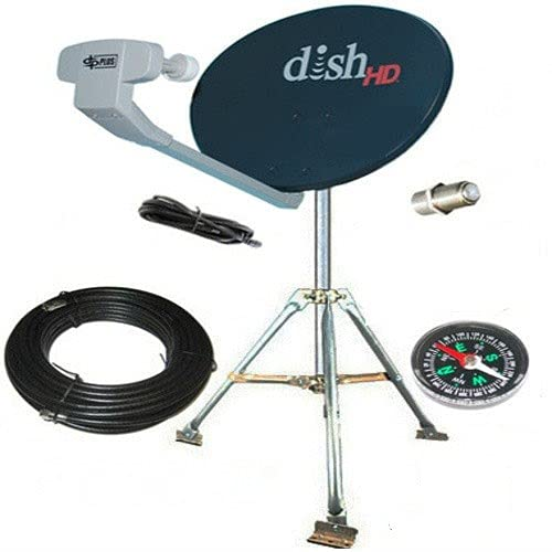 Dish Network HD Hybrid 1000.2 Western ARC RV Satellite Kit Portable