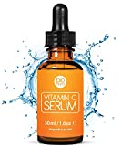 Le meilleur Bio Sérum Vitamine C + Acide Hyaluronique, Aloe Vera, Vitamine E pour le visage. Anti ge et Anti Rides avec ingrédients organiques de stimuler le collagène. De Bioniva 30 ml
