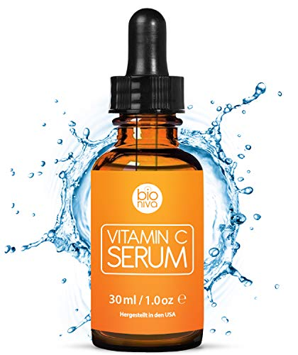 Le meilleur Bio Sérum Vitamine C + Acide Hyaluronique,...
