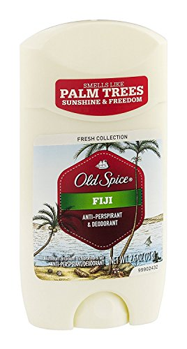 Old Spice Fresh Collection Anti-Perspirant Deodorant Fiji 2.60 oz (Pack of 6)