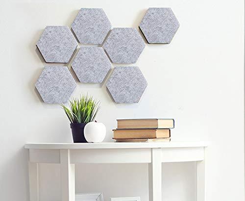 Voelde Hexagon Board Tegels Pin Board Zelfklevende - Kurk Board Memo Board van Vierkante Cirkel Vilt Pads Muur Bulletin Board om Beelden Tekenen Foto's Doelen Opmerkingen Kleurrijke Schuim Muur Decoratieve Tegels
