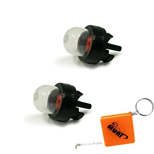 HURI 2x Primer Pumpe Kolben passend für Walbro 188-512, WT, WYJ, WYK Vergaser Dolmar LT 250 MS PS Ball Ryobi 683974 Stihl 4130 350 6200